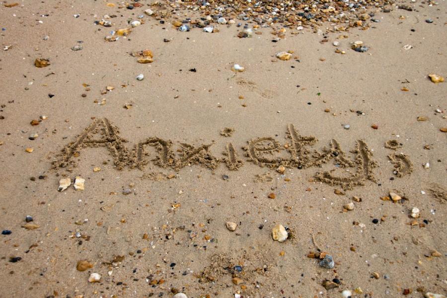 Anxiety beach